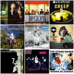 Which of these songs best defines the // Qué canción mejor resume los Bitter Sweet Symphony, Folk, The Verve, Stone Roses, Resume, Hipster, Songs, Music, Movie Posters
