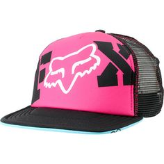 Fox Girls Endless Pink   Black Snapback Trucker Hat at Zumiez   PDP Black  Snapback a65192d3988