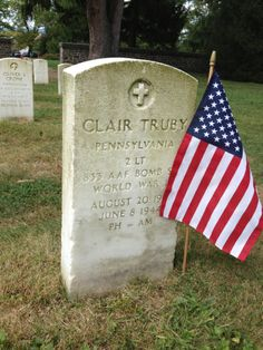 The haunting story of Clair Truby, Soldier's National Cemetery, #Gettysburg #Veterans #WWII