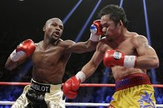 Mayweather vs. Pacquiao: Results, Punch Stats and More from Superfight - BLEACHER REPORT #Mayweather, #Pacquiao, #Boxing, #Sport