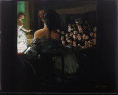 Everett Shinn - Theatre Box (1906)