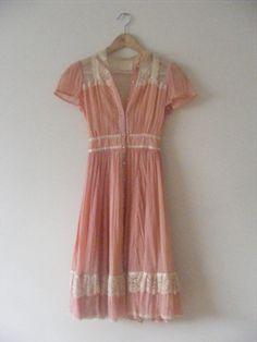 Pink Gunne Sax Dress