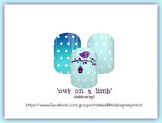 'Out On A Limb' My newest NAS design! Comment below to order or go to facebook.com/groups/PolishedNASdesignsbyTara #jamberry #jamberrynas #nailspiration #nailsofinstagram #customdesign #nailwraps #happy #prettynails #prettythings #notd #ootd #jamberryaddict