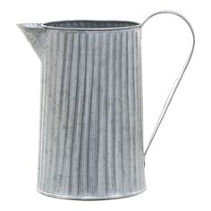 Jug | Grey | 26x27cm by French Farmhouse on THEHOME.COM.AU