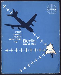 Press Kit: Pan American World Airways - Berlin inaugural service, 1964