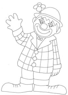 Birthday clown coloring pages Coloring For Kids, Coloring Pages For Kids, Coloring Sheets, Coloring Books, Clown Cirque, Circus Activities, Birthday Clown, Birthday Coloring Pages, Circus Theme
