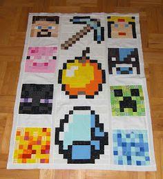 Tutorials & Free Patterns   Minecraft quilt, Tutorials and Minecraft : minecraft quilt - Adamdwight.com
