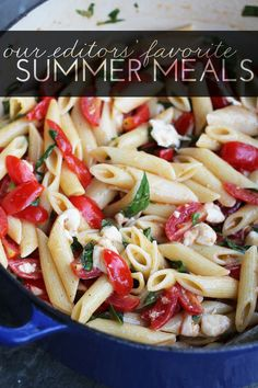 Our Editor's Favorite Summer Meals