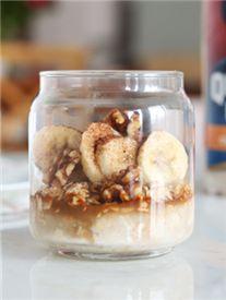 Mocha Banana Overnight Oats - Recipe | Quakeroats.com