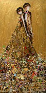 kim schuessler - this reminds me a bit of Gustav Klimt