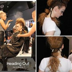 Kyanne Wagensveld's (@kyalicious) HBIA Definition of Fashion look at @Hairexpo Assisted by @hairbysimonebeales Photo Credit: Enrique Bismarck Model: @caitspiker MUA: @emzysaur  #hairexpo2016 #hairexpo #ahfaaustralianhairdresseroftheyear #headingoutacademy #hohb_aus #caterinadibiase #melbournehairdresser #avantgardehair #hairart #hairinspiration #saloneducation #HBIA2016