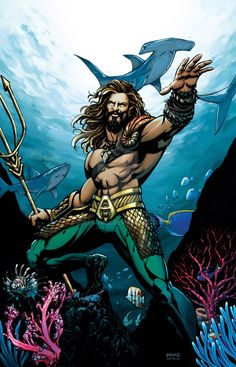 Aquaman by Joel Gomez