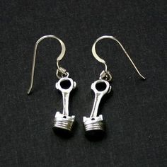 Piston earrings I want