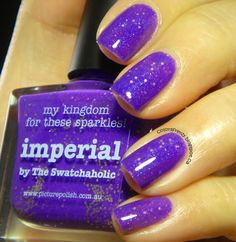 piCture pOlish 'Imperial' mani by Colors Frenzy!  Shop on-line now:  www.picturepolish.com.au