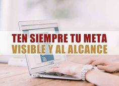 Ten siempre tu meta visible y al alcance http://aditips.com/ten-siempre-tu-meta-visible-y-al-alcance/