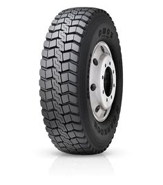 Drive axle for all conditions Drive-axle radial truck tyre designed for on & off road services in highly-aggressive conditions.