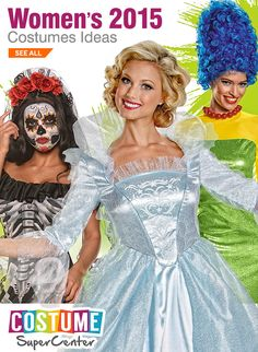 Checkout This Year's Hot New Womens Halloween Costume Licenses & Styles New Halloween Costumes, Halloween Costume Accessories, Halloween Items, Cute Costumes, Halloween 2015, Holidays Halloween, Halloween Treats, Costumes For Women, Happy Halloween