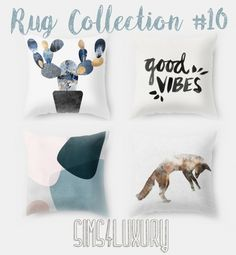 Pillow Collection #10 at Sims4 Luxury » Sims 4 Updates