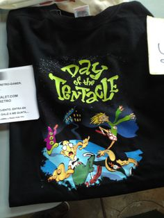 Camiseta de DAY OF THE TENTACLE.