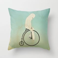 d a j e Throw Pillow by Marco Puccini - $20.00