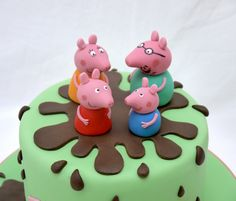 peppa pig cake - Google Search