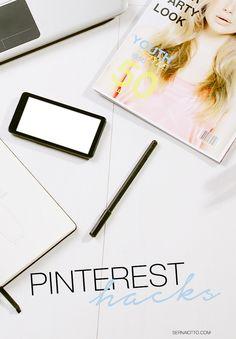 O Pinterest pode ser uma ferramenta poderosa para o seu blog! Capricha no seu conteúdo, nas suas imagens e coloca em prática esses 3 Pinterest hacks.