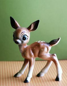my Dad would bring me back little china animals when ever he went TDY-- had one like this, horses, 3 bird dogs (tiny, very small & small)still have several of them! Fawn.