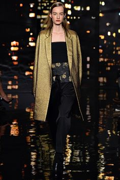 Donna Karan  Gold Fall Fashion  https://www.facebook.com/Mattie.a.la.Mode