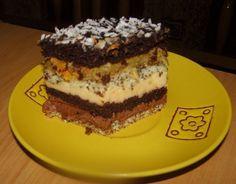 Piasek pustyni: Może być nawet jako tort na uroczystości rodzinne. Polish Cake Recipe, Polish Recipes, Biscotti, Food Art, Tiramisu, Cake Recipes, Sweet Tooth, Cheesecake, Food And Drink