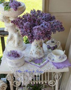 Lavender Display