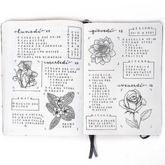 Goodmorning with this kind of quick view of the most important things I have to do this week. The layout is inspired by the talented @itslahe I totally recommend you to check out her profile  by my_journaling_corner