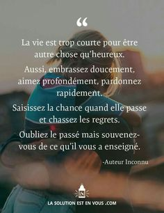 Si seulement ct possible. French Words, French Quotes, Words Quotes, Me Quotes, Sayings, Positive Mind, Positive Attitude, Great Quotes, Inspirational Quotes