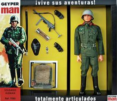 Modelo: Geyperman Soldado alemán