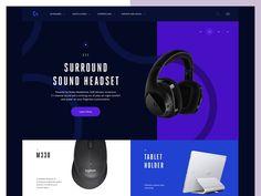 Logitech Product Page
