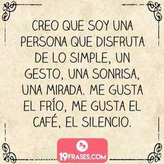 Me gusta todo lo simple #consejosamor