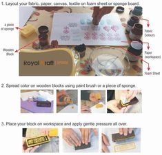 How to do Wooden Block Printing?