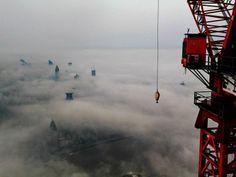 Poze surprinzătoare cu Shanghai de la înălţime - galerie foto