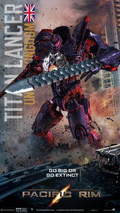 •Pacific Rim Jaeger-Titan Lancer 2 by Saguinius