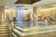 Roman Bath @ Qua Baths & Spa (#CaesarsPalace). Just went there this past weekend...words cannot describe how much I loved this spa! :)