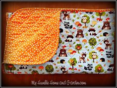 The Perfect Quilted Baby Blanket | My Humble Home and Garden