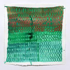palmofmyhands:    Judy Ledgerwood, Bronze, Copper, Greens, 2011