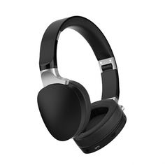 Wireless Bluetooth Headphones - Wired+Wireless Headphones Headset with Mic and Soft Earcups - Black