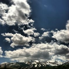 #Breckenridge #Clouds #Colorado #mountains