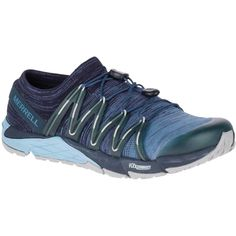 e416566be3a Womens Merrell Bare Access Flex Knit Running Elastic Cord Trainers Sizes 4  to 8