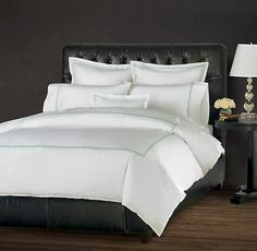Fairmont Leather Bed   Upholstered Beds   Restoration Hardware