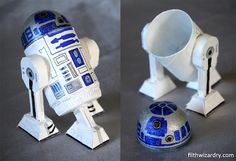 These projects combine two of my favorite things - handmade and Star Wars. Check out these 16 Star Wars crafts that are out of this world. I'd love to know which of these Star Wars DIY projects are your favorite! Star Wars Crafts, Geek Crafts, Secret Storage, Diy Storage, Storage Boxes, Hidden Storage, Storage Spaces, Manualidades Star Wars, Anniversaire Star Wars