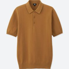 be93946af5c Men washable knitted short-sleeve polo shirt