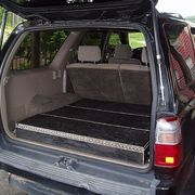 Ever wish that you could find an inexpensive way to organize stuff that clutters the back of your SUV?  Do you want to be able to haul bigger cargo without unloading all the smaller stuff?  Do you hunt or shoot and need a way to cary firearms and gear securely and out of the way?       If you answered yes to any of these questions then this article...