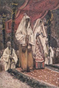 James Tissot Paints The Birth The Betrothal of the Holy Virgin and Saint Joseph
