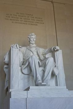 National Monuments, DC (Lincoln Memorial)